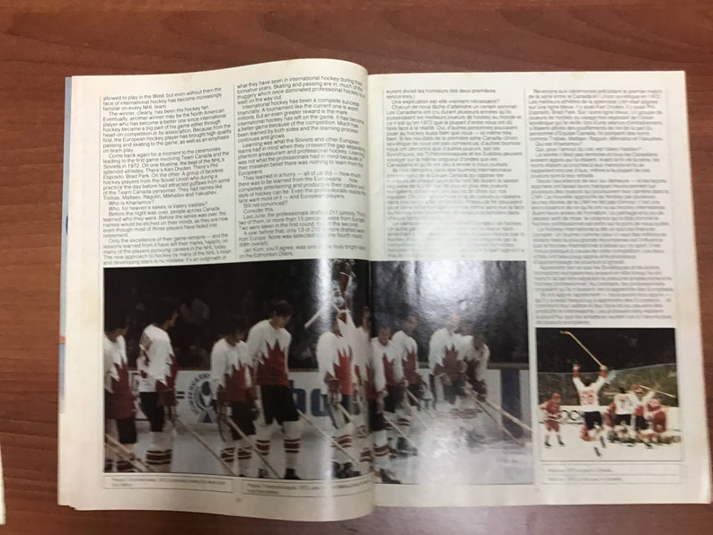 1981 Coupe Canada Cup Magazine