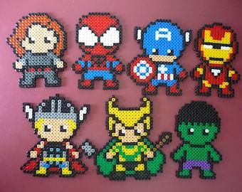 Marvel Pixel Art Etsy