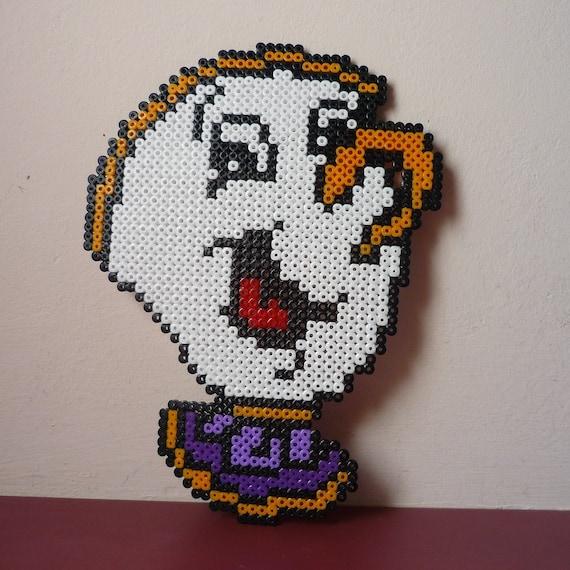 Chip Potts Beauty And The Beast Hama Beads Perler Beads Pixel Art