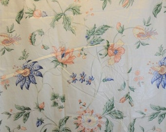 Curtains & Drapes Vintage Long Curtain Drapery Panels Abstract Peter Maxx Colors Cotton Fabric Cheap Sales 50% Antiques
