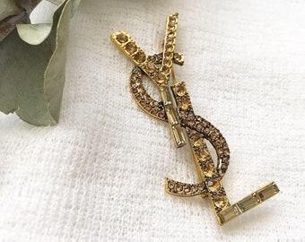 62390f27af0 Luxury Crystal Brooch