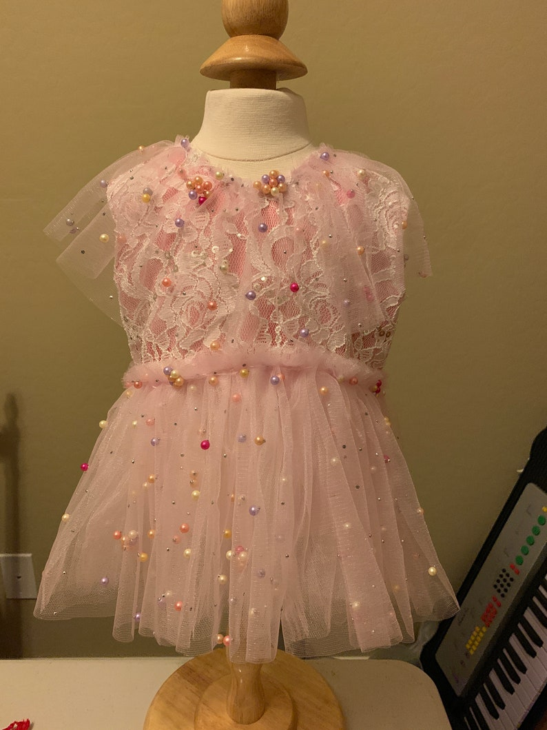 Ava Pearly Pink romper for sitters photo outfit