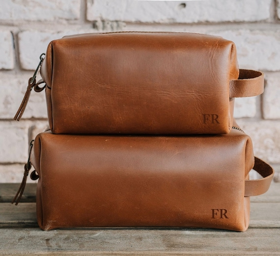 Fathers Day Gift Personalised Leather-Look Holdall Weekend Bag for Men Gift for Dad Christmas Gift for Men Grandad Step Dad Gift Monogram