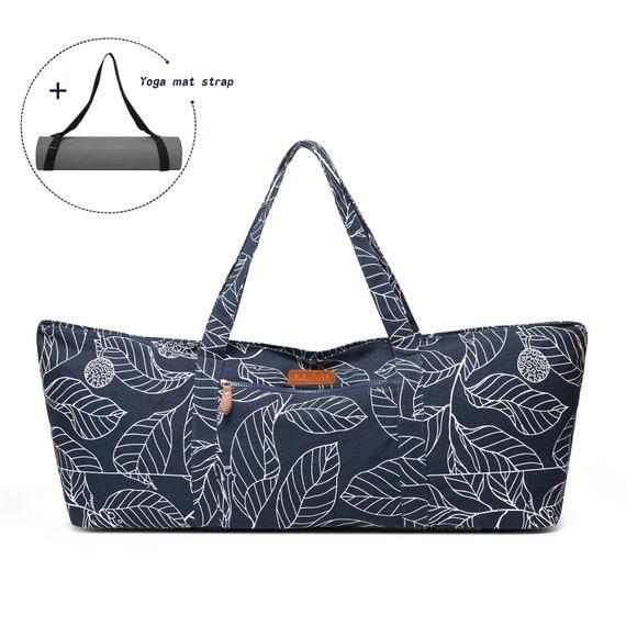 Personalized Large Yoga Mat Bag Custom Yoga Tote Bag Men Etsy