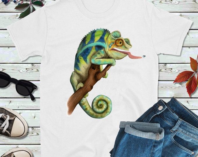 583f04edd Chameleon Shirt   Lizard T-Shirt Unisex   Iguana Tshirt   Reptile Lovers Tee  Shirt