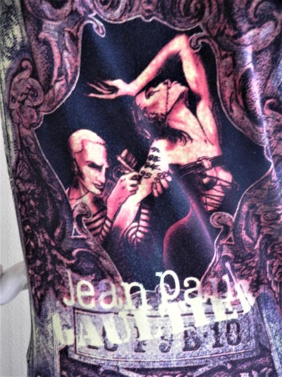 Vintage Top jean Paul Gaultier cotton knit sweater