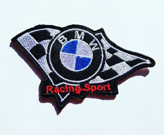 BMW Car Iron On Patch Sew On Embroidered Patch T shirt Jacket Patch