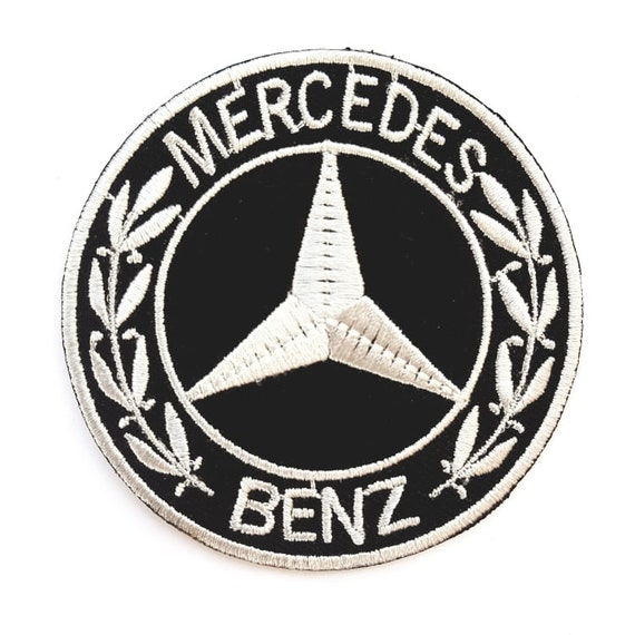 MERCEDES BENZ Car Iron On Patch Sew On Embroidered Patch T shirt Jacket Patch
