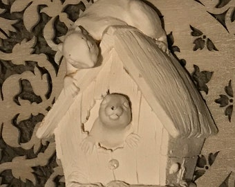 Latex Mould for making this lovely playing teddies scene