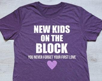 f2da23288 NKOTB Shirt    New Kids On The Block Vintage T-Shirt    NKOTB Concert Shirt     Nkotb T shirt    New Kids on The Block Tee    NKOTB Concert