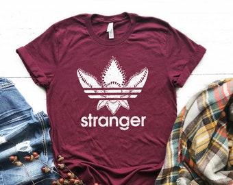 d119c50e Stranger Things Adidas Demogorgon Parody T-shirt Unisex Jersey Short Sleeve  Tee