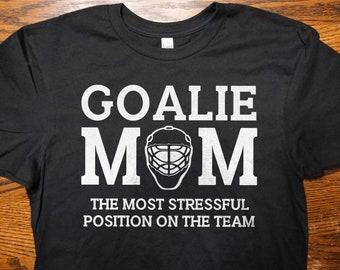 1d56abe2585 Goalie Mom Women s T-Shirt