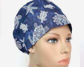 Summer Treats Womens Euro Style Scrub HatScrub CapSurgical HatVet Chemo Chef HatL/&D Icu Ccu CRNA Er Trauma Hat