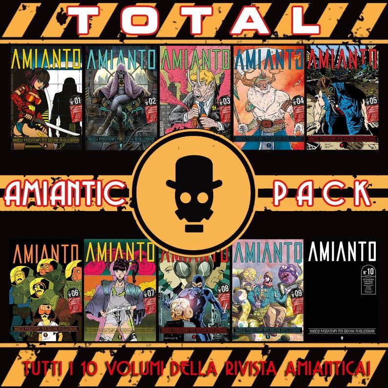 TOTAL Amiantic Pack  10 Asbestos Numbers image 0