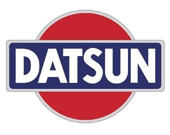 Datsun Windshield Decals Sticker 120Y 240Z 280Z Free Shipping x 1