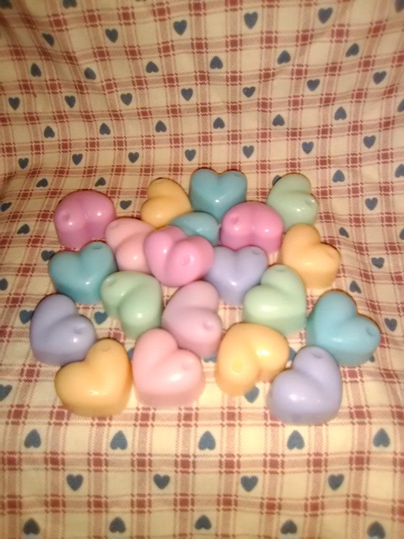 cats and more FREE shipping hearts 30 Soy wax Eucalyptus mini melting tarts 6 shape choices seaside