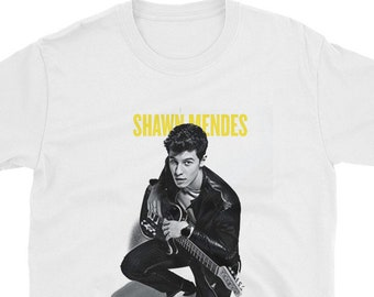 dacb5542 SHAWN MENDES shirt, Unisex, Tees, shawn mendes tshirt, Teen Gift, Shawn  Mendes Merch, Shawn Mendes gift, concerts tshirts, Gift for
