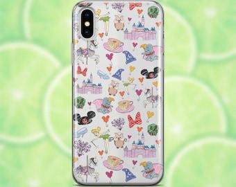 iphone xr phone case clear disney