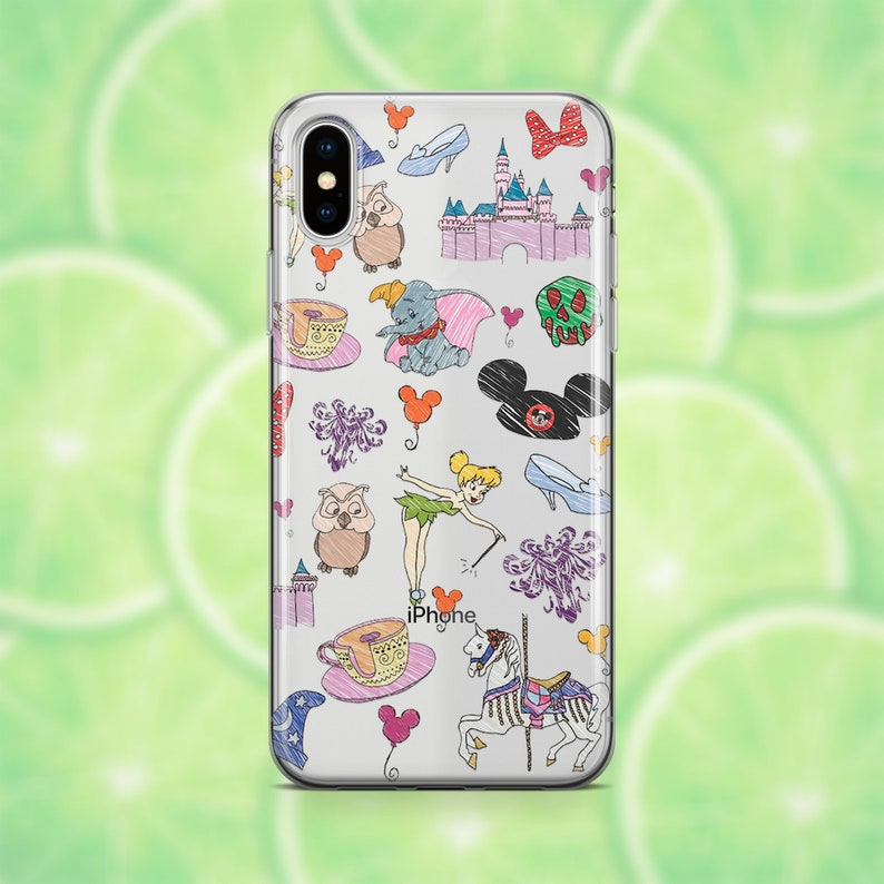 Iphone 8 case disney Etsy