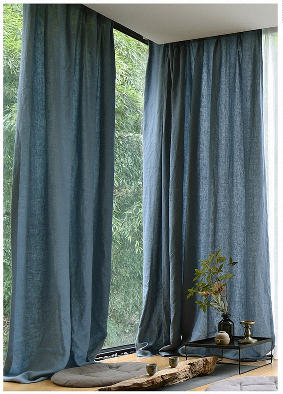 CRUSHED VELVET Pencil Pleat TapeTop Curtains With Option of BEADED Scarf Drape
