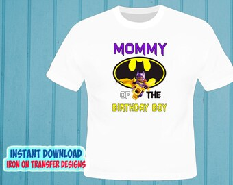 9f5fa4e1648 INSTANT Download - Batman - MOM - Digital image - Iron on transfer t-Shirt  - Batman Iron On Transfer - Decal - High Resolution