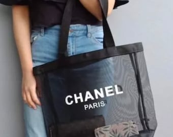9fa5de9632fb CHANEL VIP Gift Mesh Tote Inspired - Best baby, wedding shower, Birthday  Gifts!!