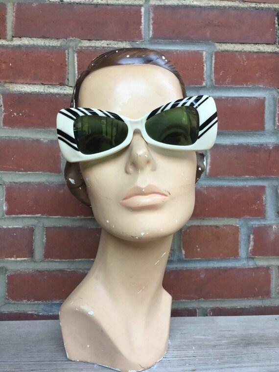 1960's Mod Cateye Sunglasses/Deadstock by Etsy
