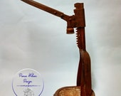 1920s Indestro Bench Top Bottle Capper Made from steel, with a beautiful rust patina. Barn Find Very Rare