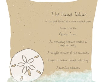 image regarding Legend of the Sand Dollar Poem Printable called Sand greenback poem Etsy