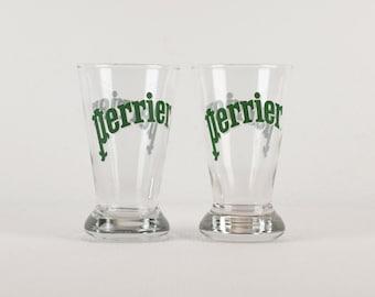 Set of 2 Perrier Glasses