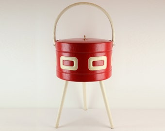50s style Sewing basket