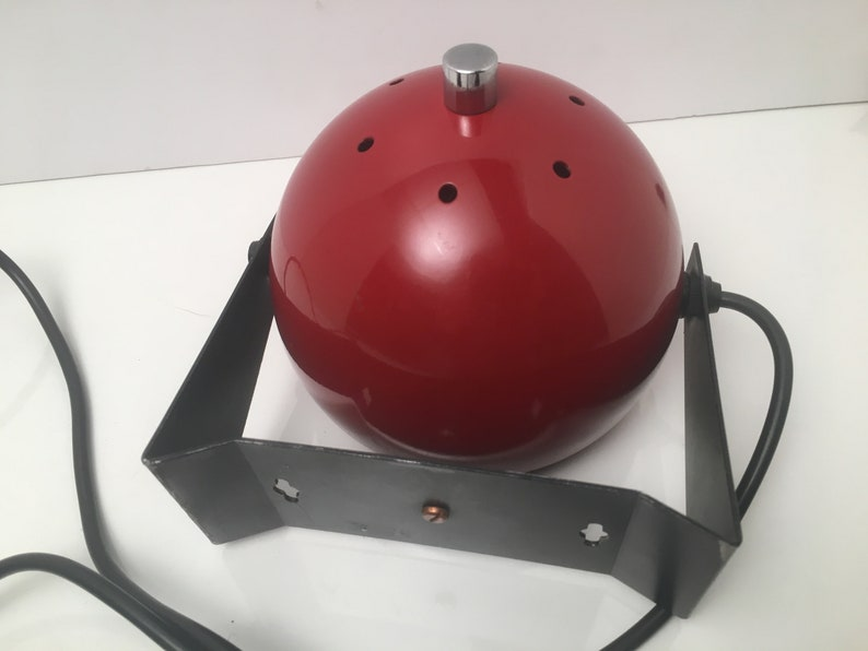 Classic Red Vintage Sphere Wall light