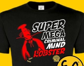 Dr Shakamoto Vic Reeves Bob Mortimer tee T-SHIRT Super Mega Criminal Mind Lobster Robster men's funny tv comedy House Of Fools Big Night Out