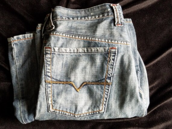 Mens Guess Jeans, Blue Jeans, Guess mens clothing - image 4
