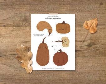 Printable pumpkin banner - pumpkin garland - Digital Download banner - DIY Banner - instant download