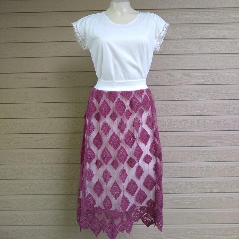 Plum Women/'s Skirt XL