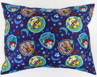 TRAVEL PILLOW Replacement pillow case Paw Patrol cotton