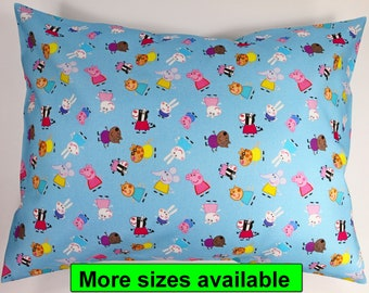 PEPPA PIG Cushion cover  pillowcase PILLOW KIDS CHILDRENS PEPPER