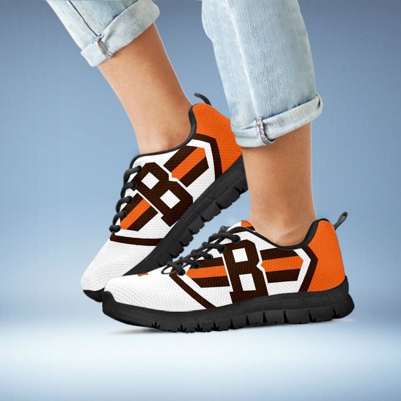 aa49c57b Cleveland Browns Sneaker, Browns Football Custom Sneaker, Custom Shoes,  Gift Shoes, Gift Birthday, Size: Women, Men, Youth, Children