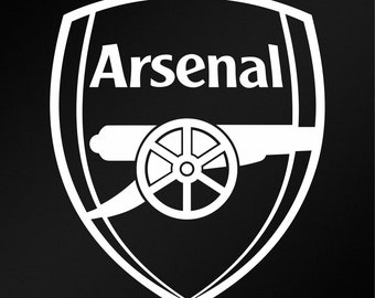 cb0a453370204b Arsenal F.C. Logo Vinyl Decal Sticker