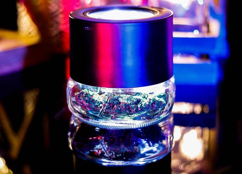 MasonBrite™ Stash Primo Glass Jar Lid Kit w/ LED Magnifying image 0