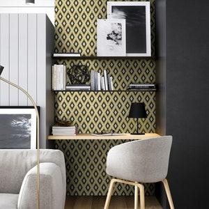 Peel /& Stick #8S Hamra Beige and Black Backsplash Sticker Classy beige kitchen wallpaper sticker Kitchen and Bathroom Splashback