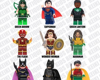 Set of 9 Custom Figures