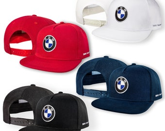 b1056dc6daa BMW Motorsport 5 Panel Baseball Cap EMBROIDERED Logo Snapback Hip Hop Car  Auto Hat Mens Womens Gift Accessories T Shirt White Black Blue Red