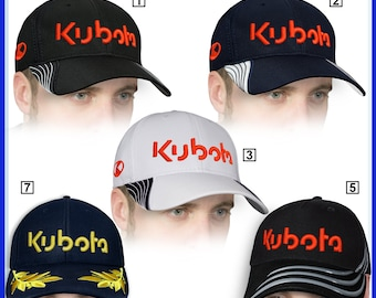 39272619 Kubota Baseball Cap 3D EMBROIDERED Logo Agriculture Tractor Farmer Hat Mens  Womens Gift Accessories Adjustable T Shirt Friend Fathers Day