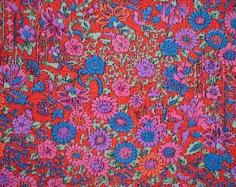 Flower Pattern Wool Noren - Cherry Blossoms Sakura, Chrysanthemum, Camellia, Peonies, Flowers, Vines Japanese Chirimen Curtains