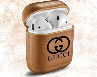 c0d7d9f9d0 Gucci AirPods Case Inspired by Gucci Logo AirPod Black AirPods Cover Apple  Gucci Airpod Personalized Monogram Handmade AirPod Gucci Case
