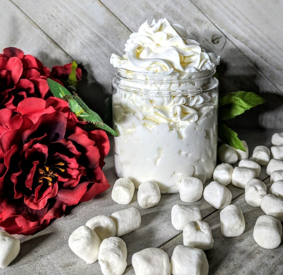 Marshmallow Fireside Lotion Homemade Body Lotion Homemade Hand Body Lotion  Homemade Body Cream Hand Cream Silky Body Hand Cream  Mom Gift