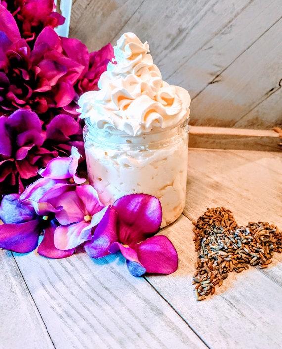 Lavendar Lotion Homemade Body No Harmful Chemicals Paraben Free Vegan Free Eczema Cream Organic Honey Essential oils