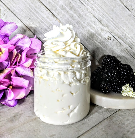 Blackberry Vanilla Lotion Homemade Body Lotion Homemade Hand Body Lotion  Homemade Body Cream Hand Cream Silky Body Hand Cream  Mom Gift